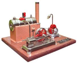 Jensen 25G Stationary Engine.